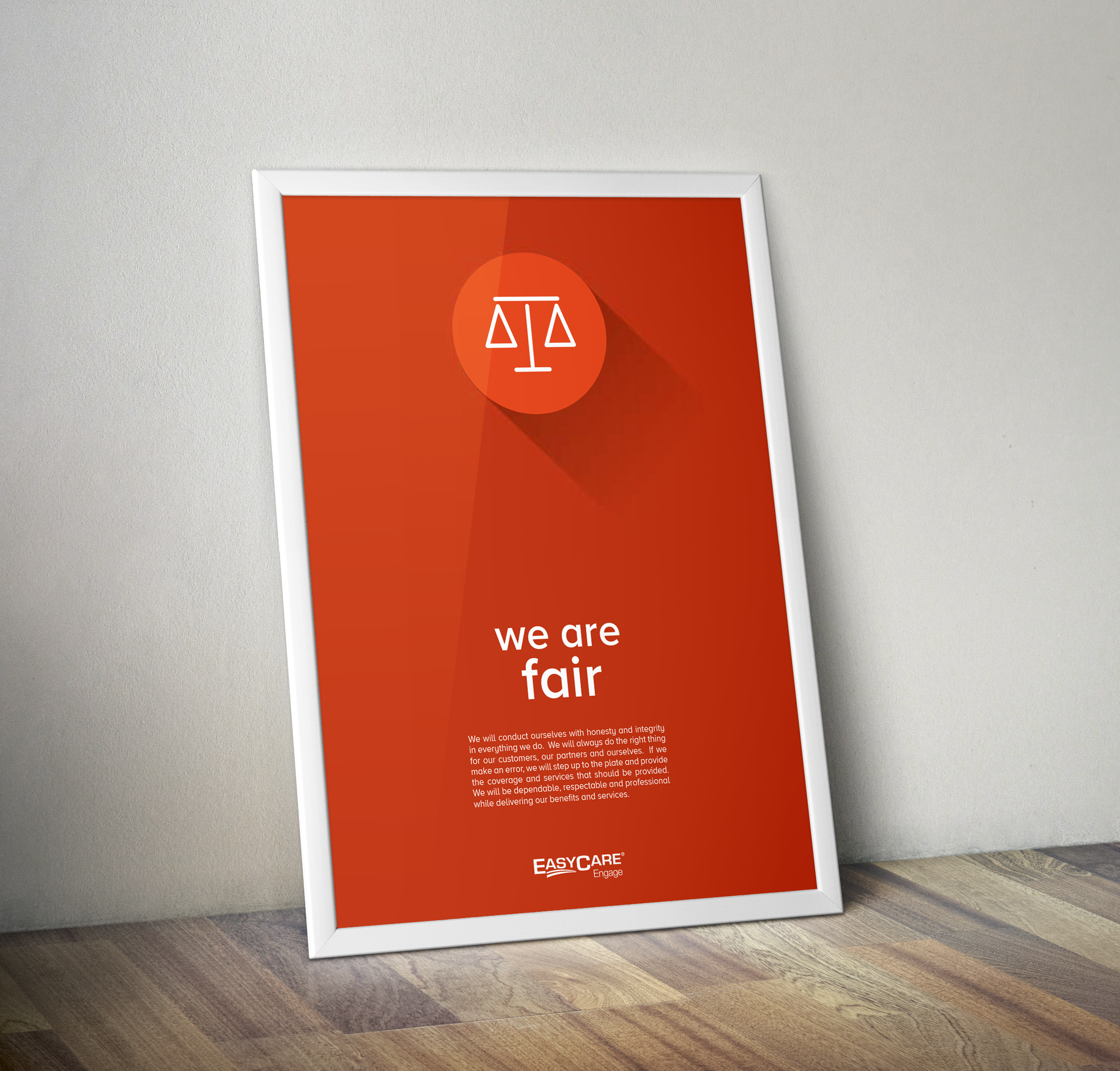 Core Values Office Posters - click for more