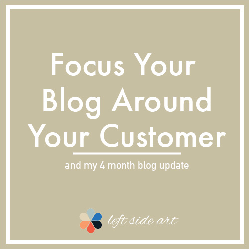 Focus Your Blog Around Your Customer To Be Successful - left side art