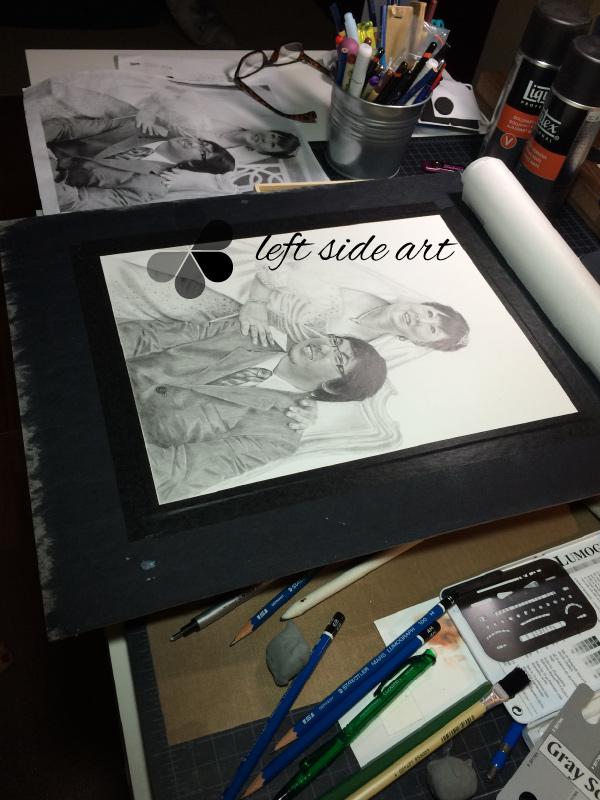 left side art