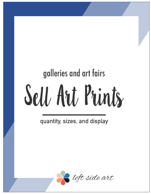 Sell Art Prints at Galleries and Art Fairs - left side art