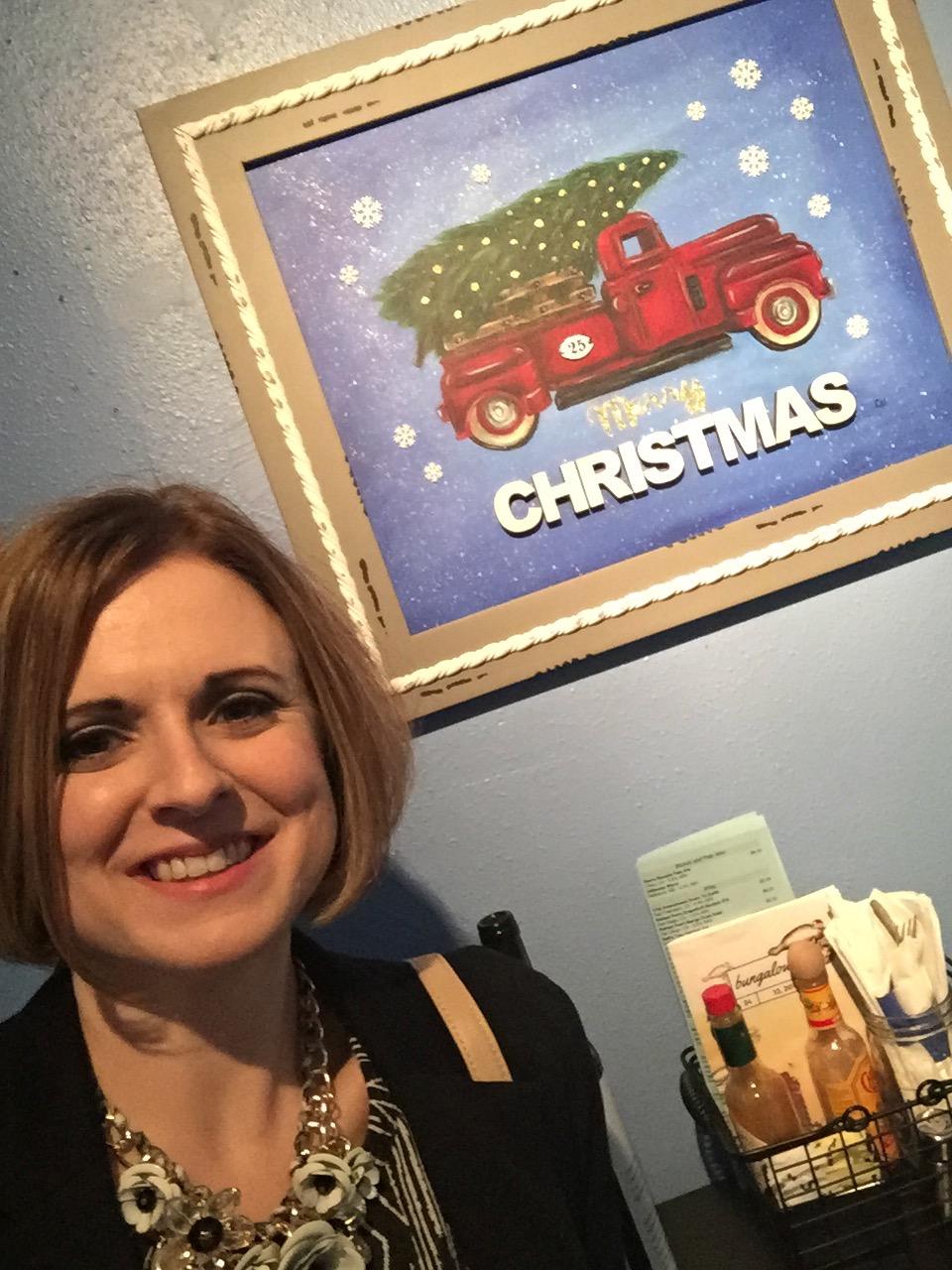Left Side Art - Christmas 2017 Art Show - Christine Newell