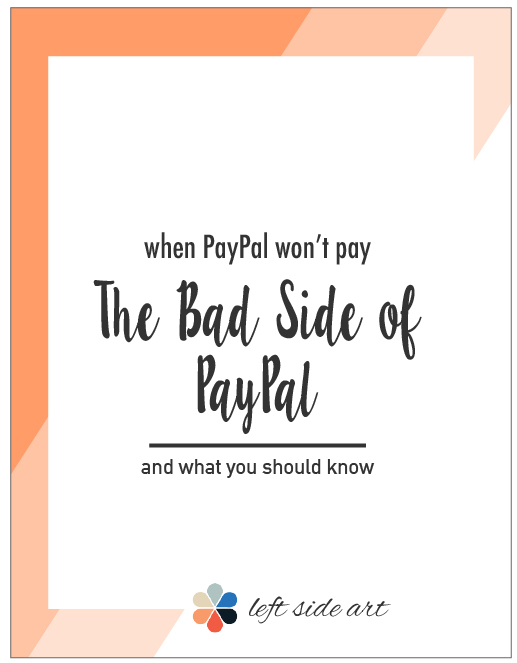 When PayPal won't pay you - left side art