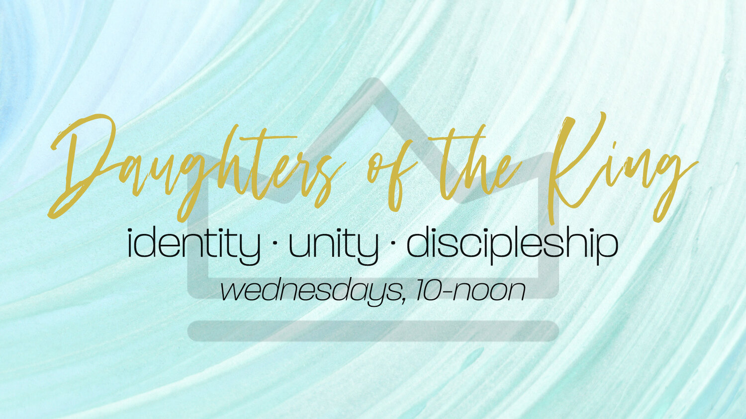Women's group meets every Wednesday from 10am-noon at the GCC in the Fellowship Hall. This is a safe place to explore our identity in Christ! To examine God's Word and be intentional with applying His scriptures and what we learned from Sunday's message to our daily lives! Please contact Terry Billings for more information.  (530) 320-1138  or  sassytb@sbcglobal.net