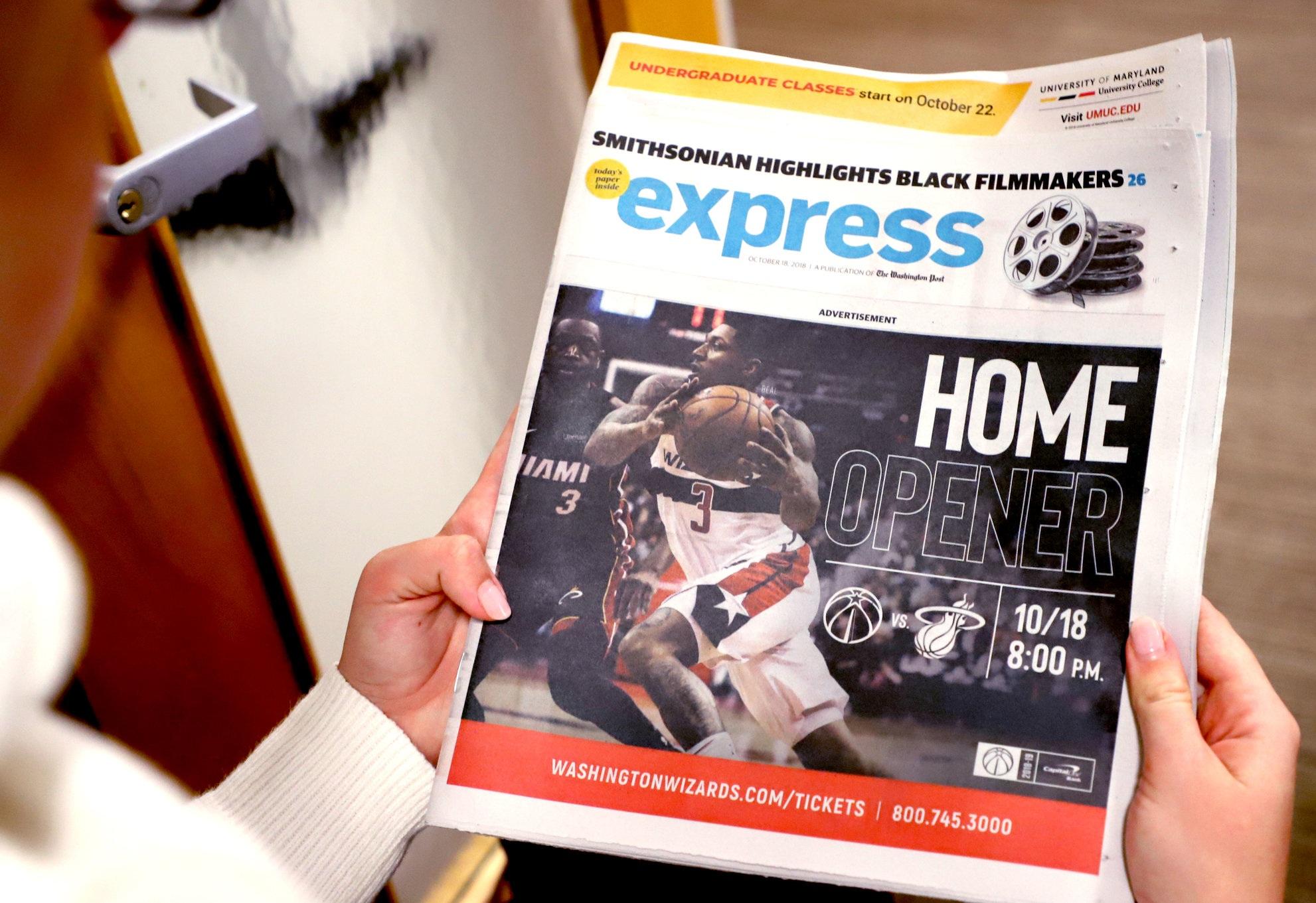 Washington Post Express Cover Art