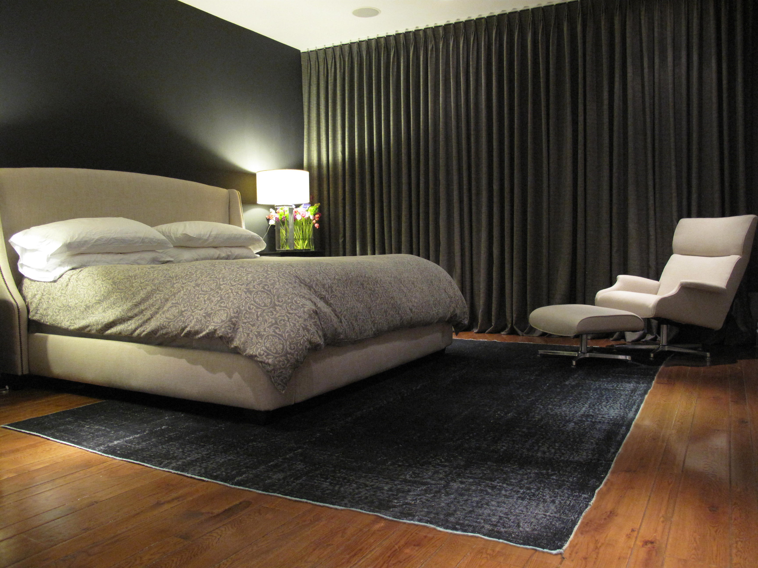 Fade To Black by Portola Paints, interior design by From the Inside