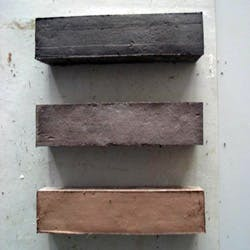 Scottish clay, wool and seaweed brick