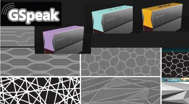 Grill Pattern Design/Bluetooth Speaker