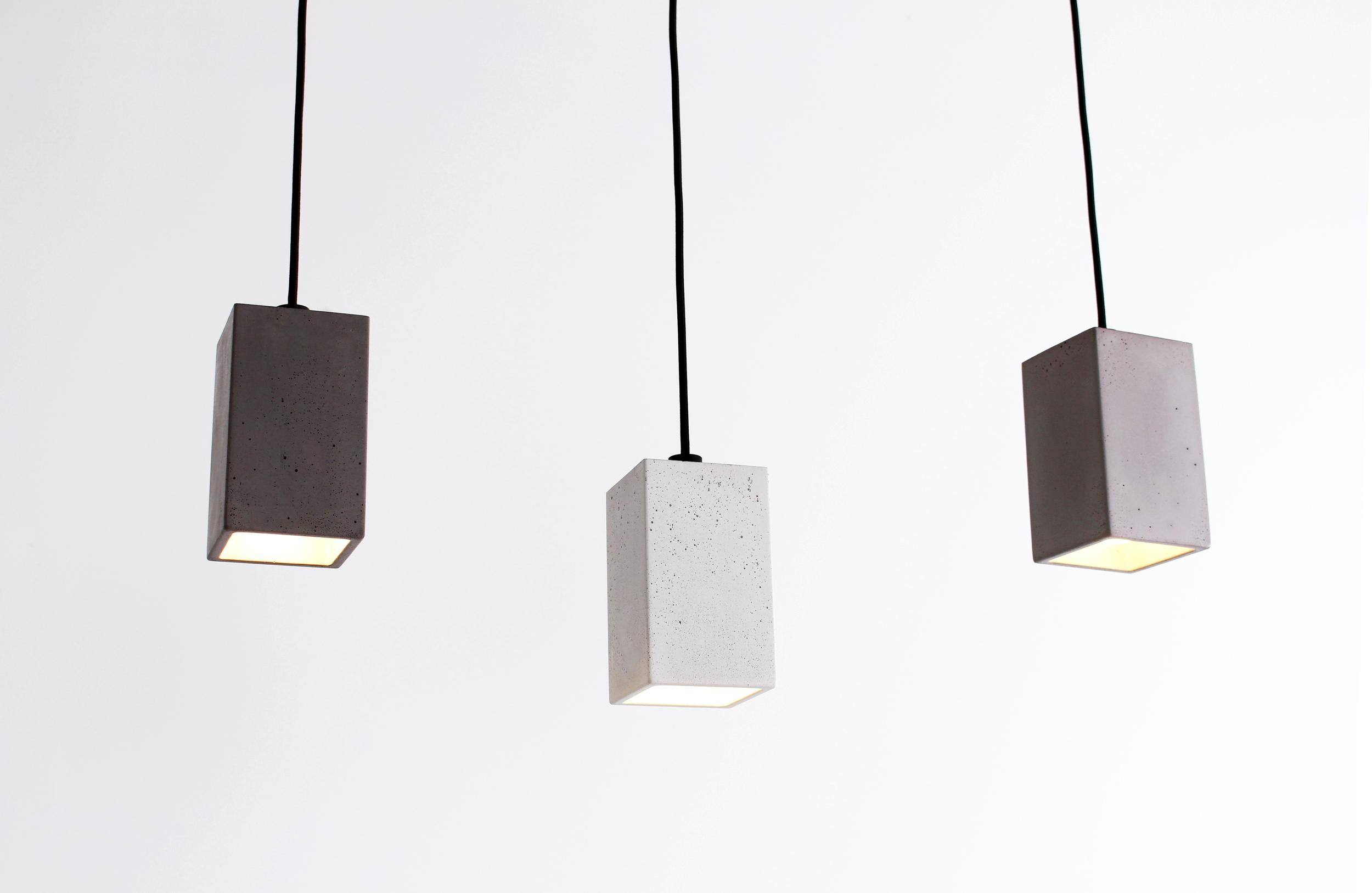 Blok Concrete Pendant Lights