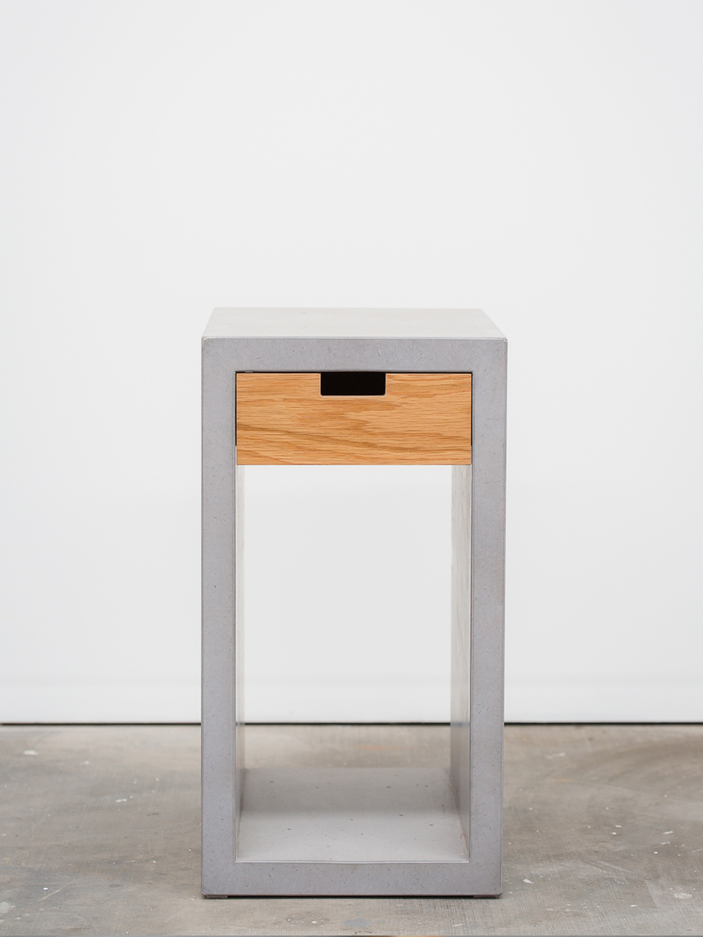 Kolo Timber and Concrete Side Table