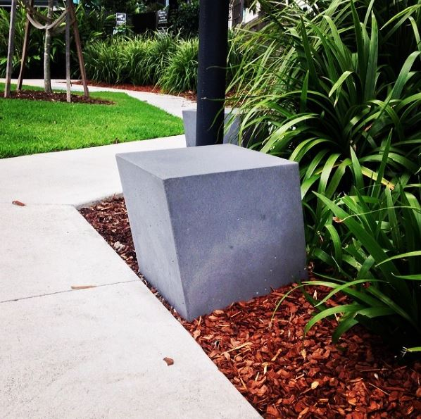 Boksi Concrete Stool without backrest