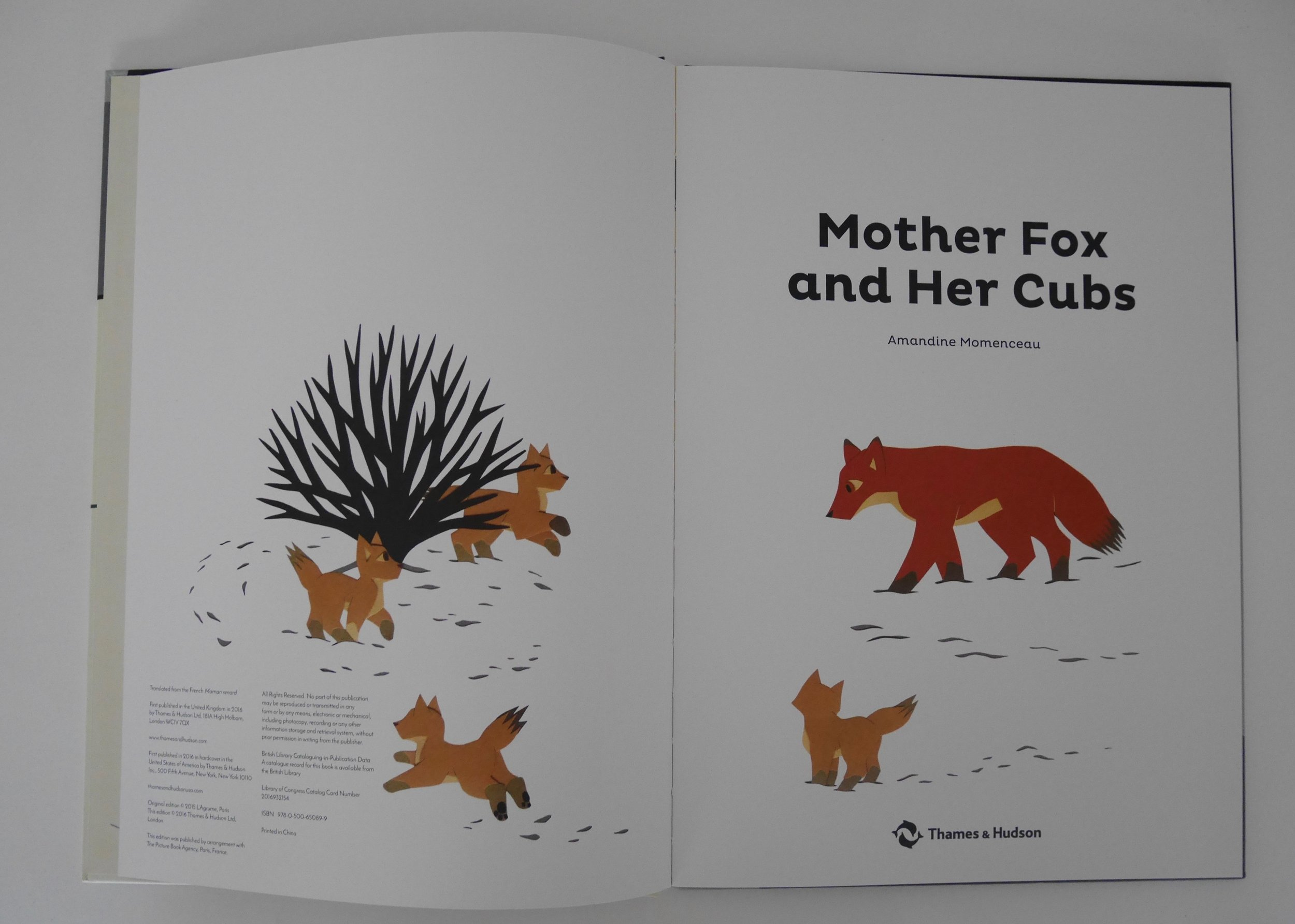 Mother Fox and Her Cubs  has a joyful kinetic energy throughout.