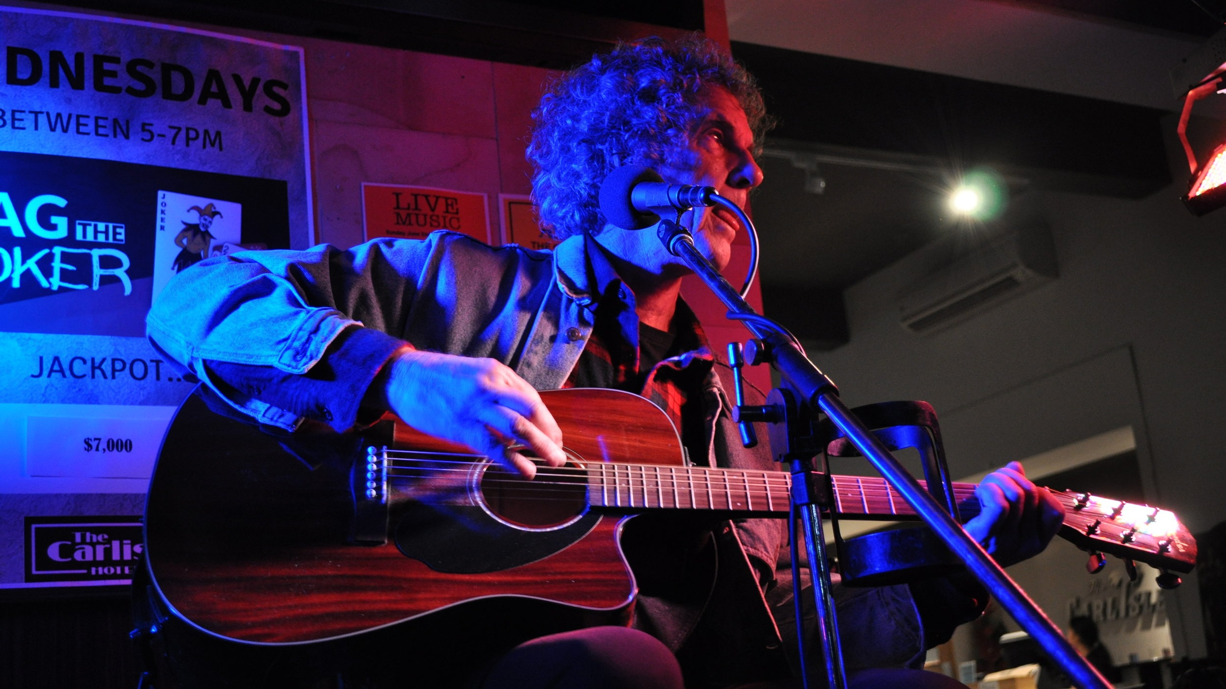 Carlisle Hotel Open Mic, Thursdays - 6.30-9.30pm. A lovely cozy lounge bar & friendly audience.