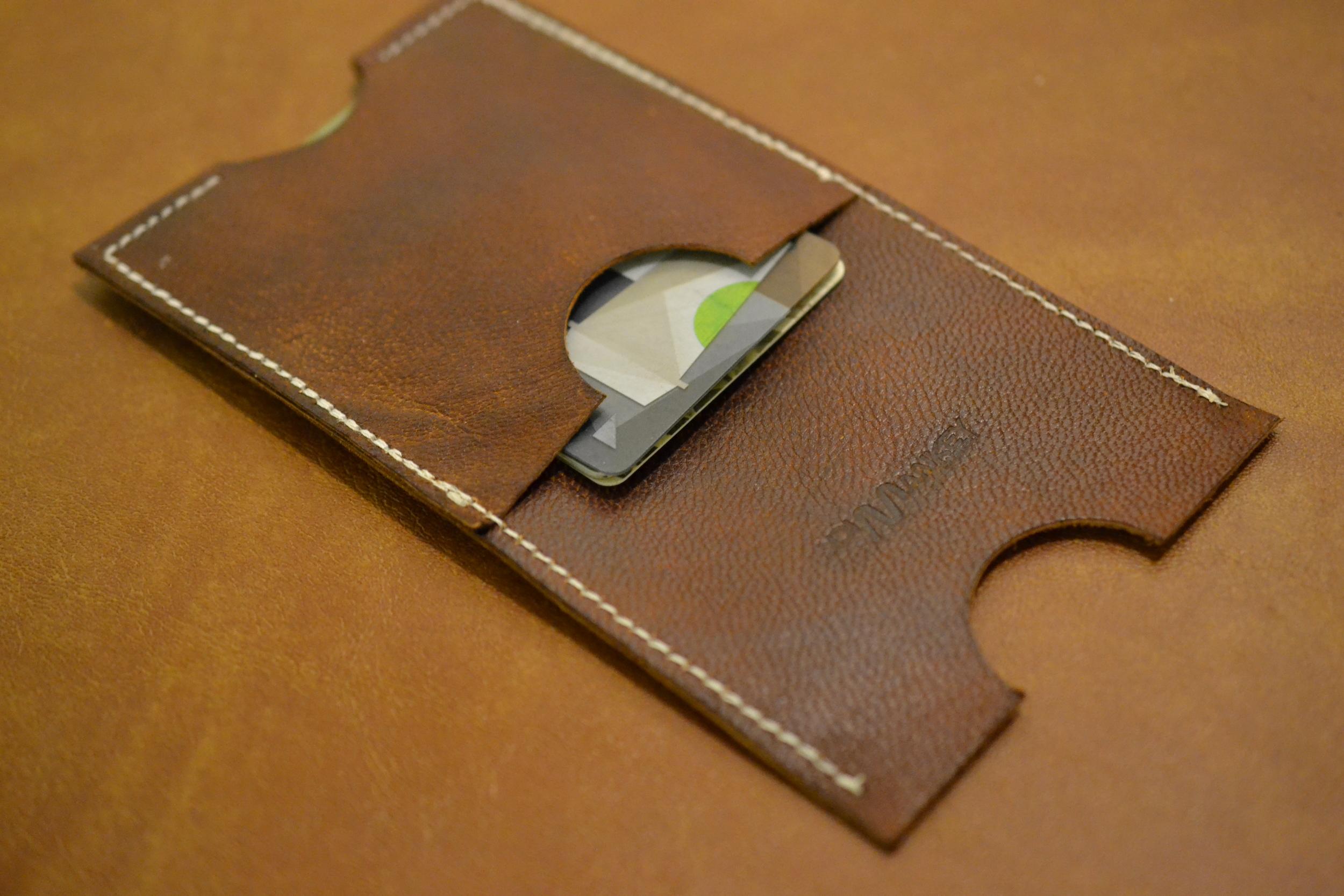 Phone Wallet - Dark Brown