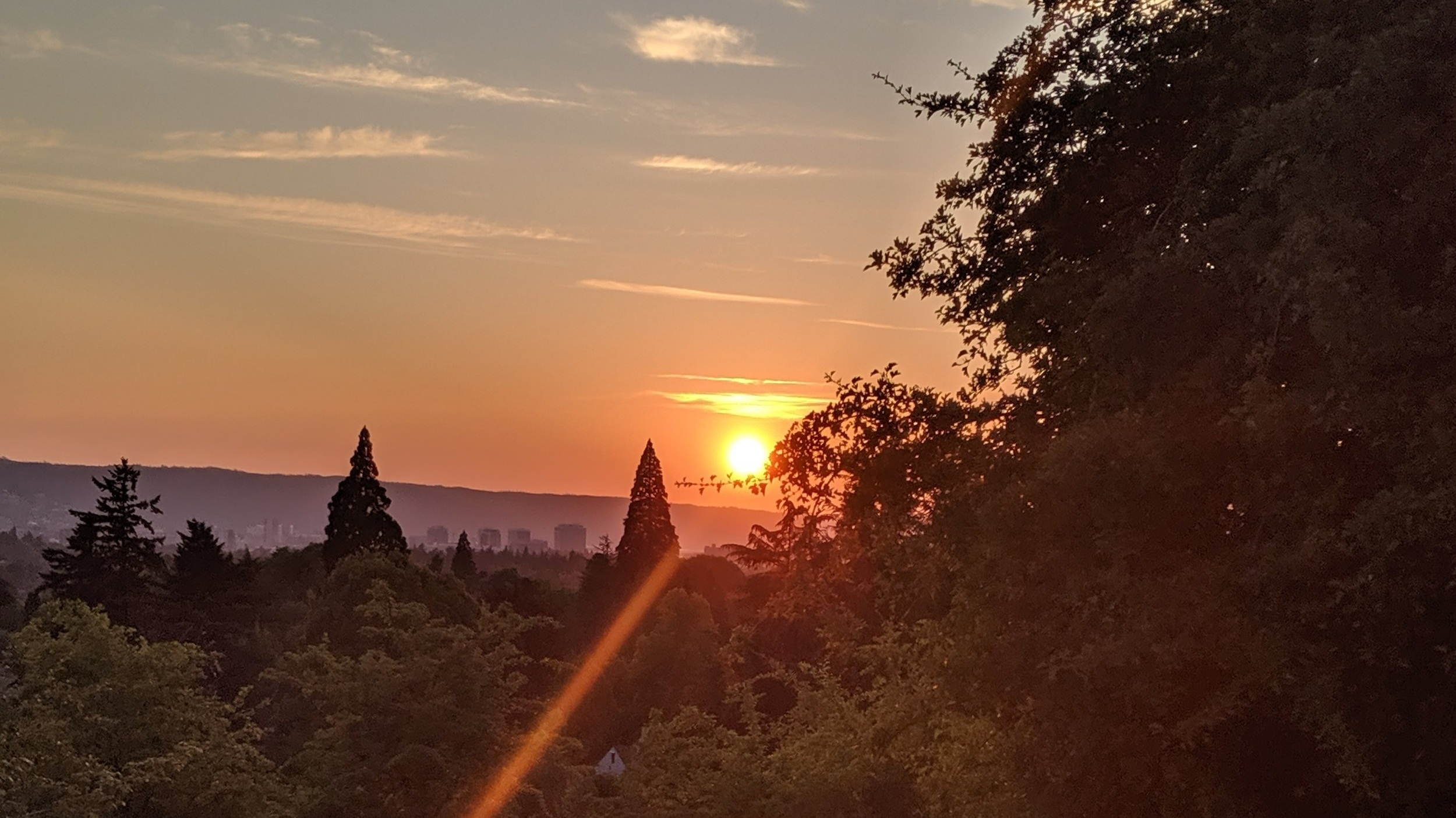 Best sunsets in Portland