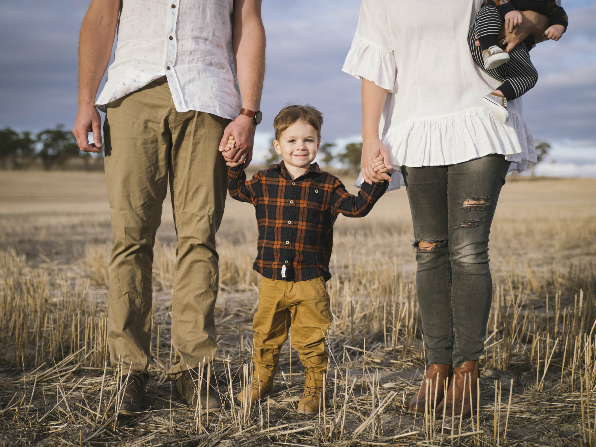 Rural farming family lifestyle photography session on farm in the country Wheatbelt of WA