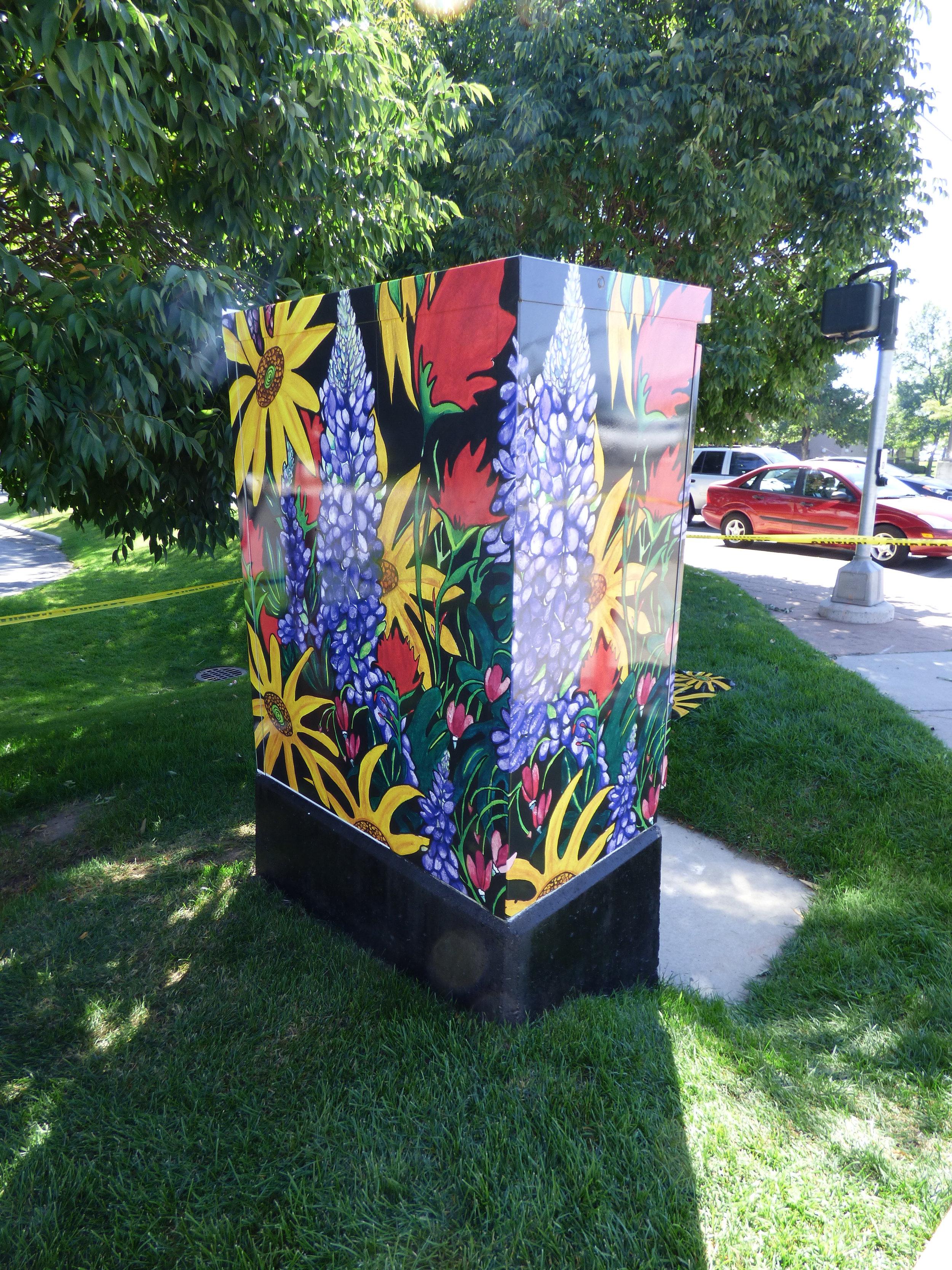 Wild Blooms // Debbie Bell