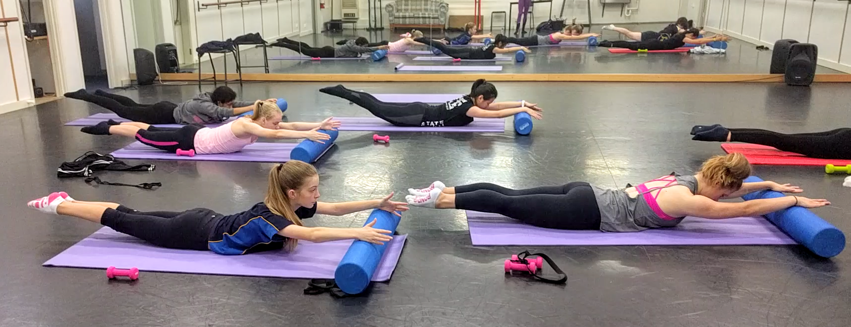 Pictured above Limber working with Sandringham College Dance Students