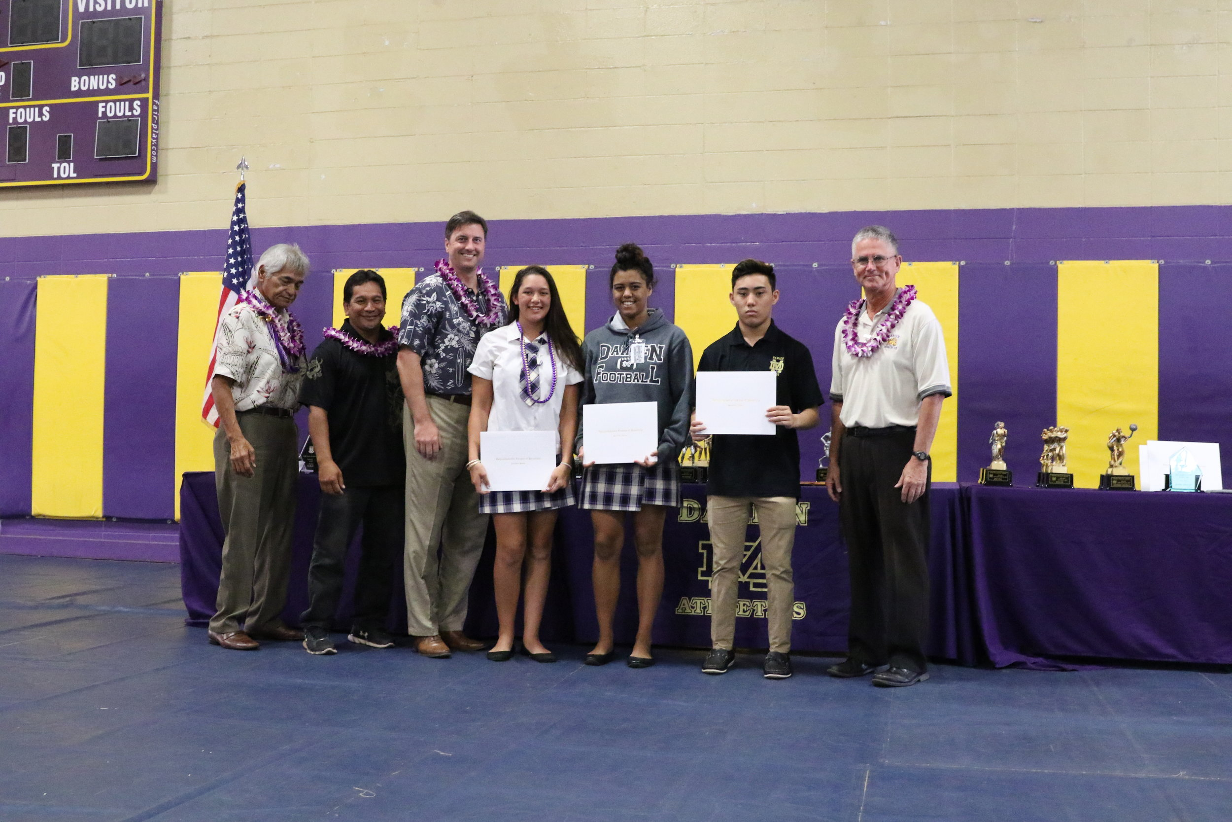 ILH First and Second Team All Stars -Wrestling