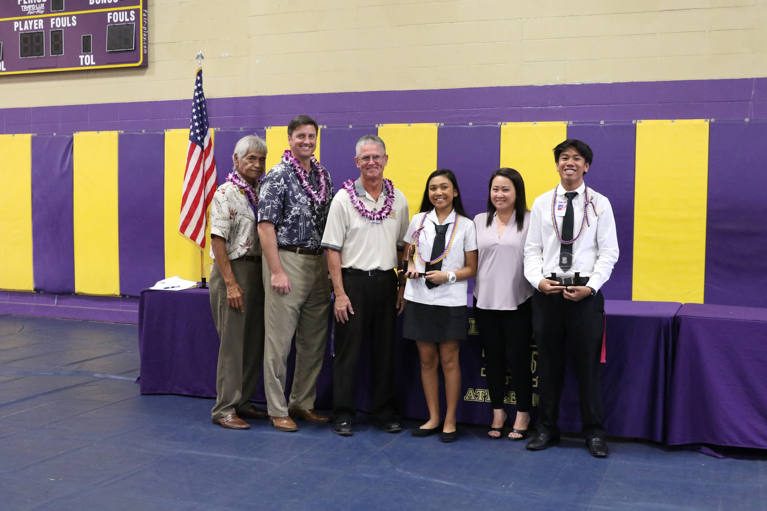 DMS Athletic Major Service Award