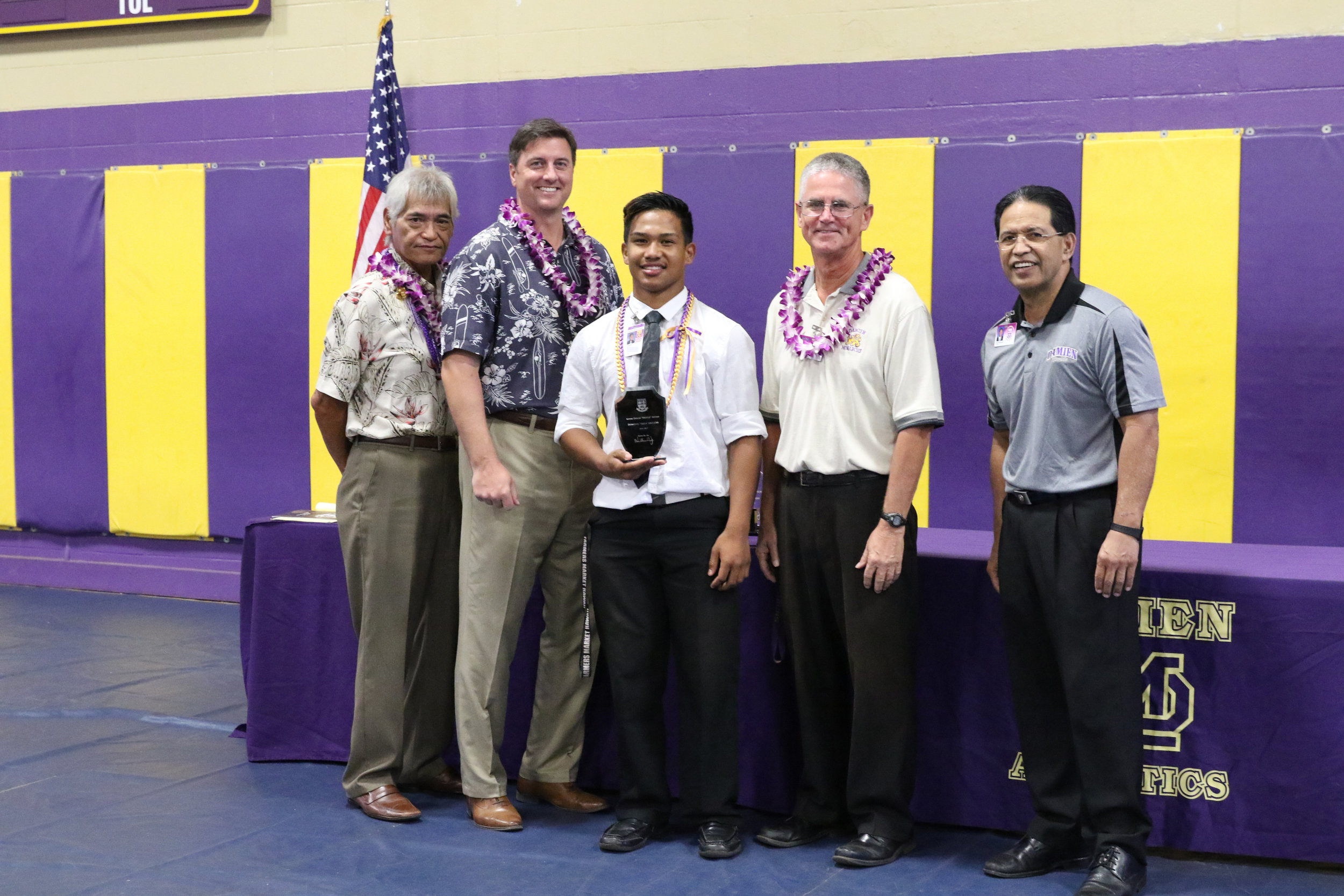 Kevin Dolan Hustle Award