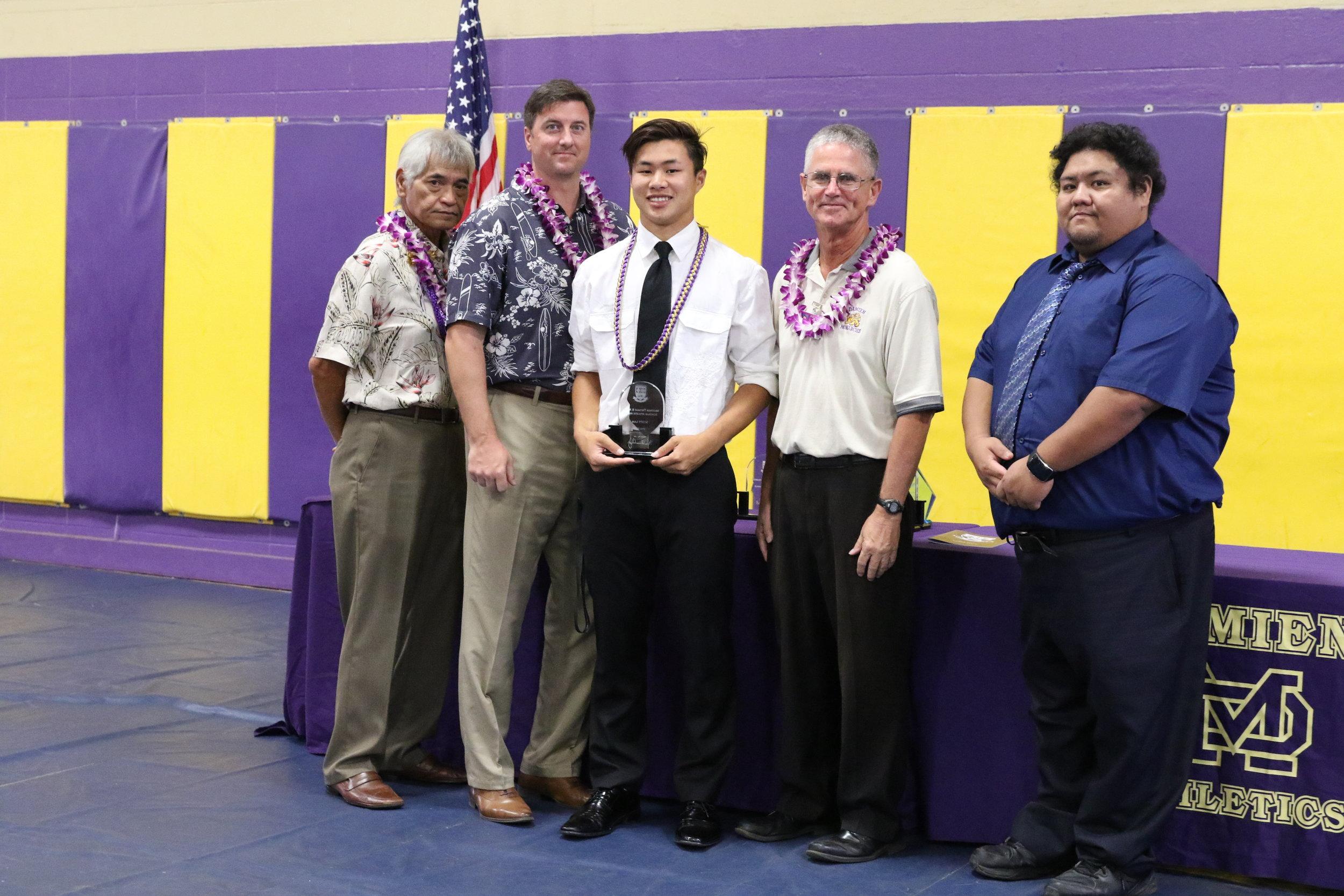 Brother Thomas B. Regan Scholar Athlete Award