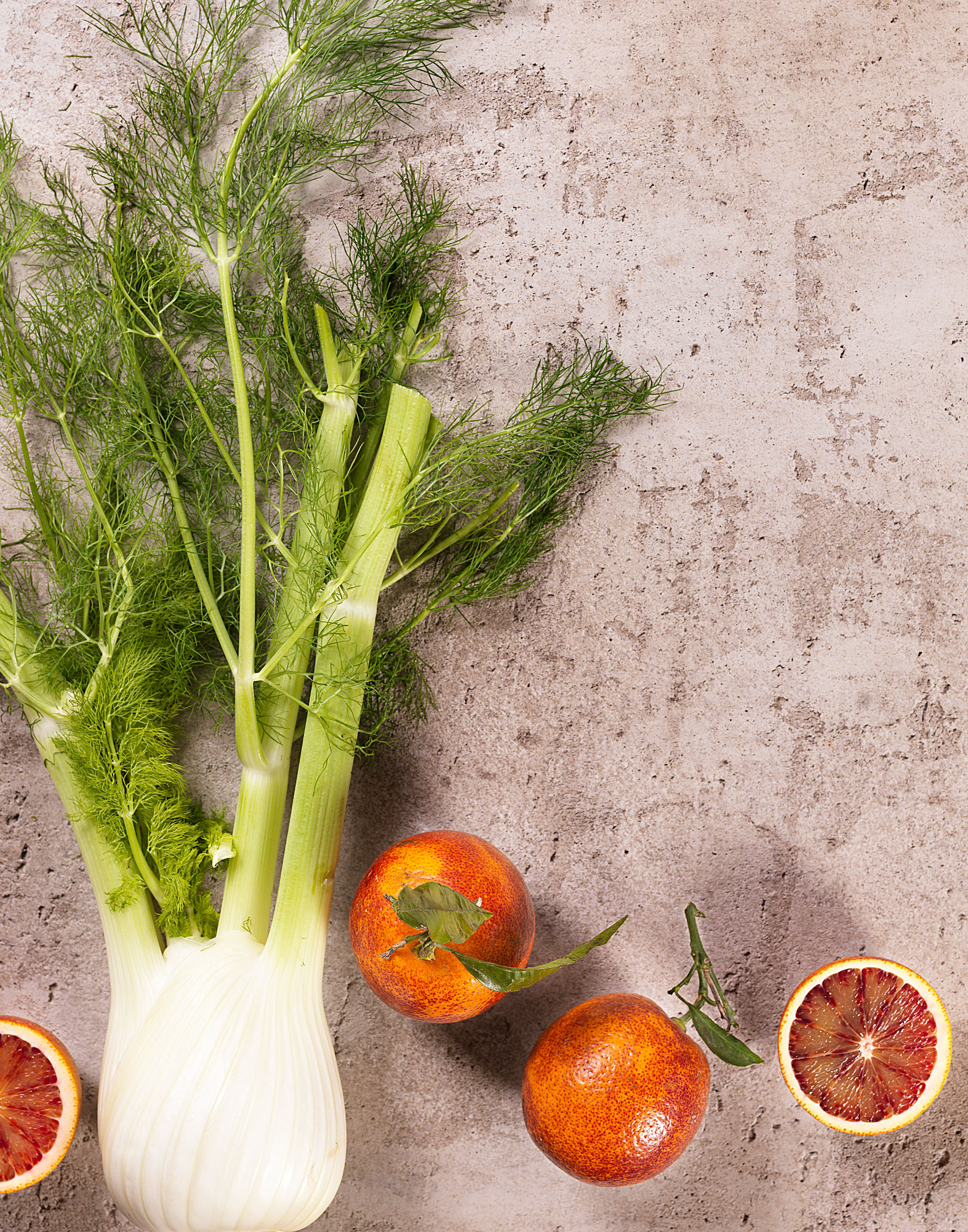 Fennel and Blood Oranges