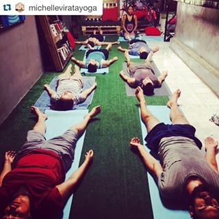 Michelle teaching at Bodhi. 💗 Much love to you girl!