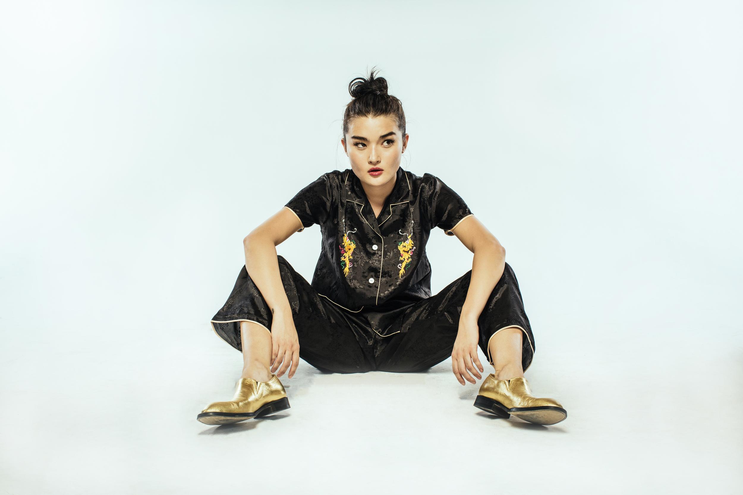 Top & Pants: Zara