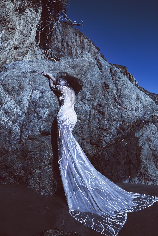 Dress  Eleanore Couture  / Rings  Drukker Designs