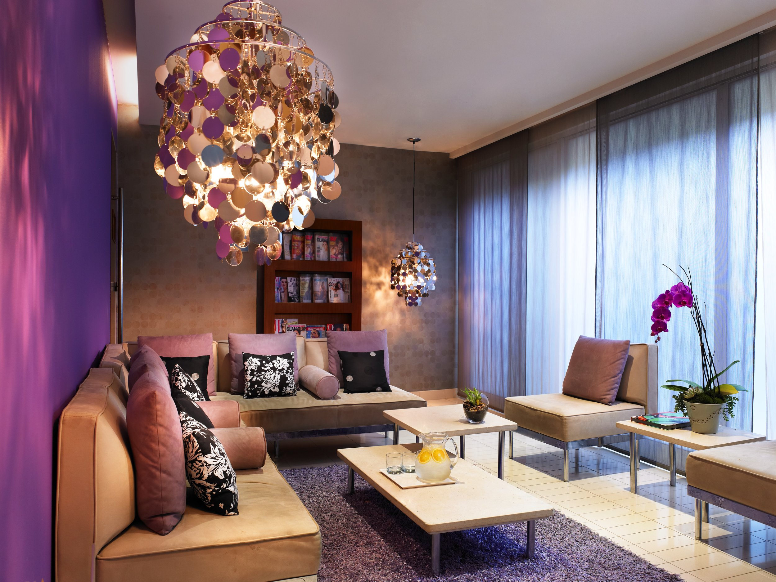 Bliss Spa Lounge Area