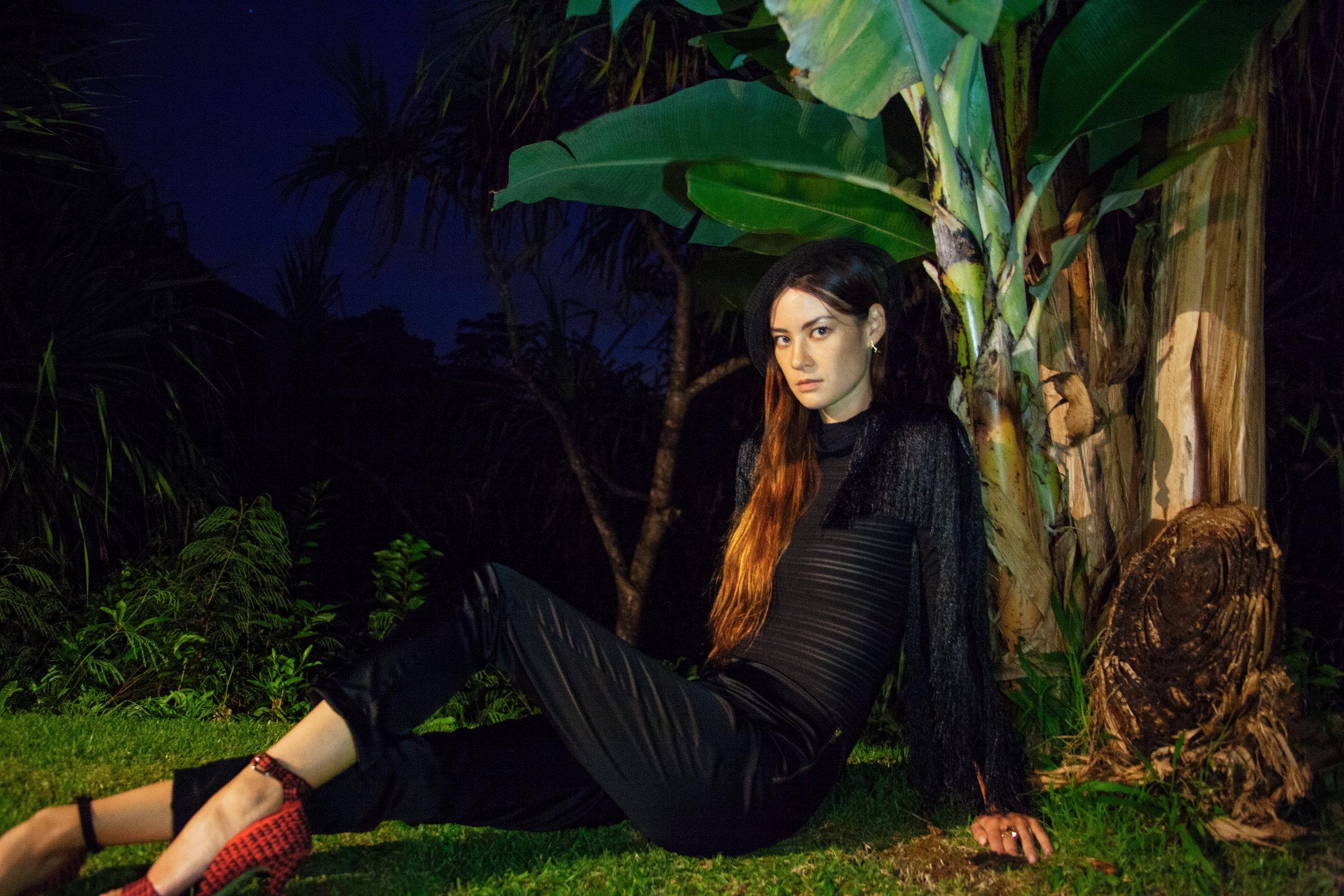 Clothing & Shoes : Manaola Hawaii /  Earrings : Salty Girl