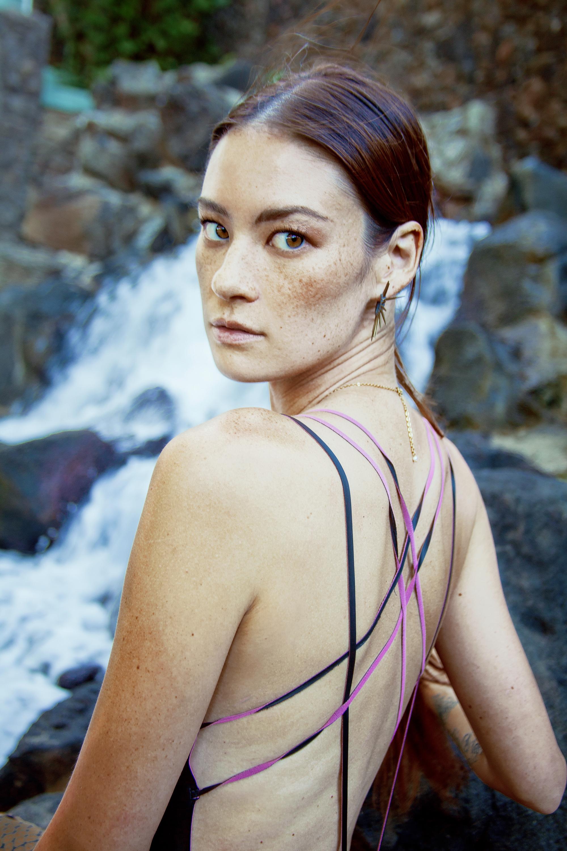 Swimsuit : S.I.E. Swimwear /  Earrings : Salty Girl