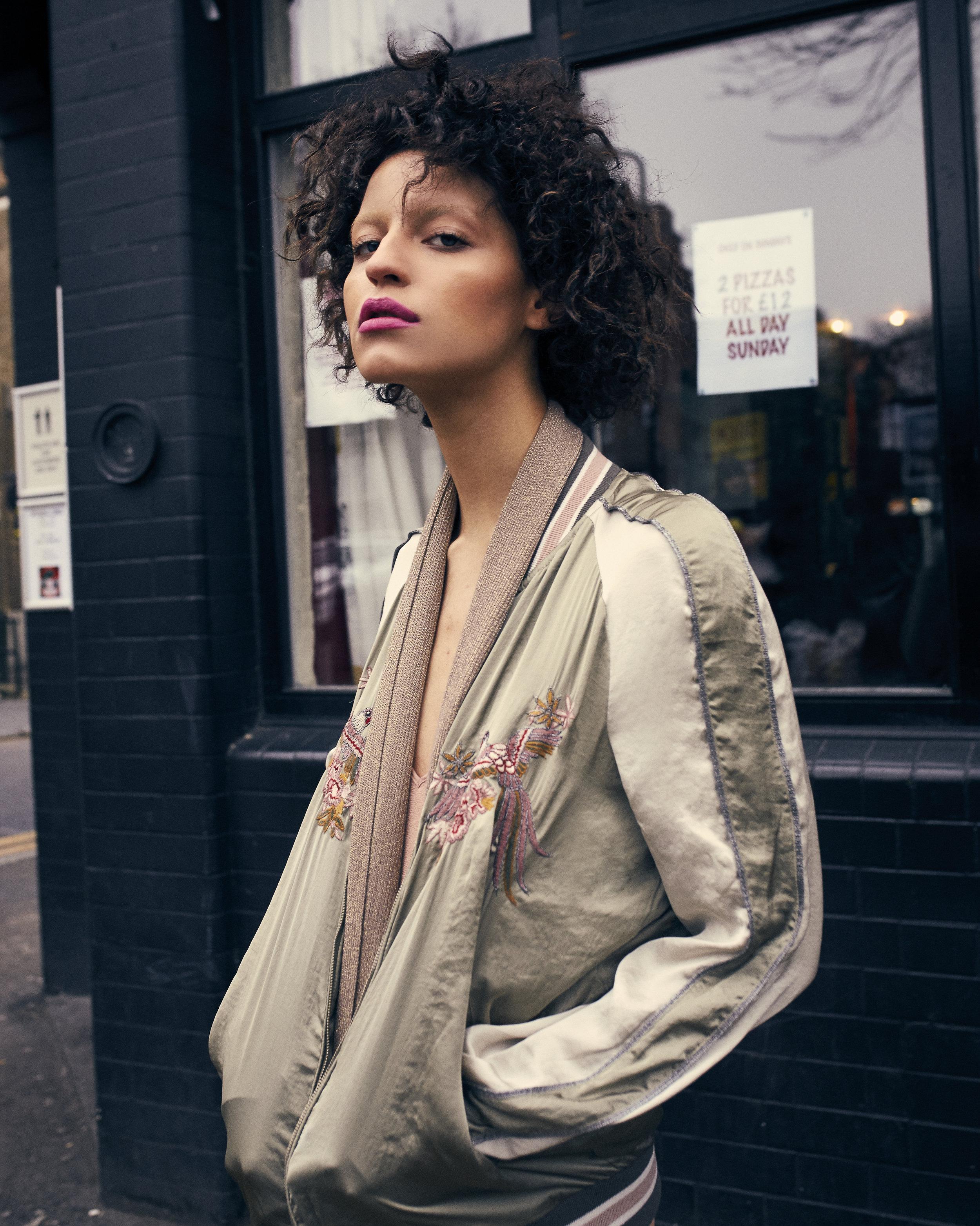 Jacket: Zara