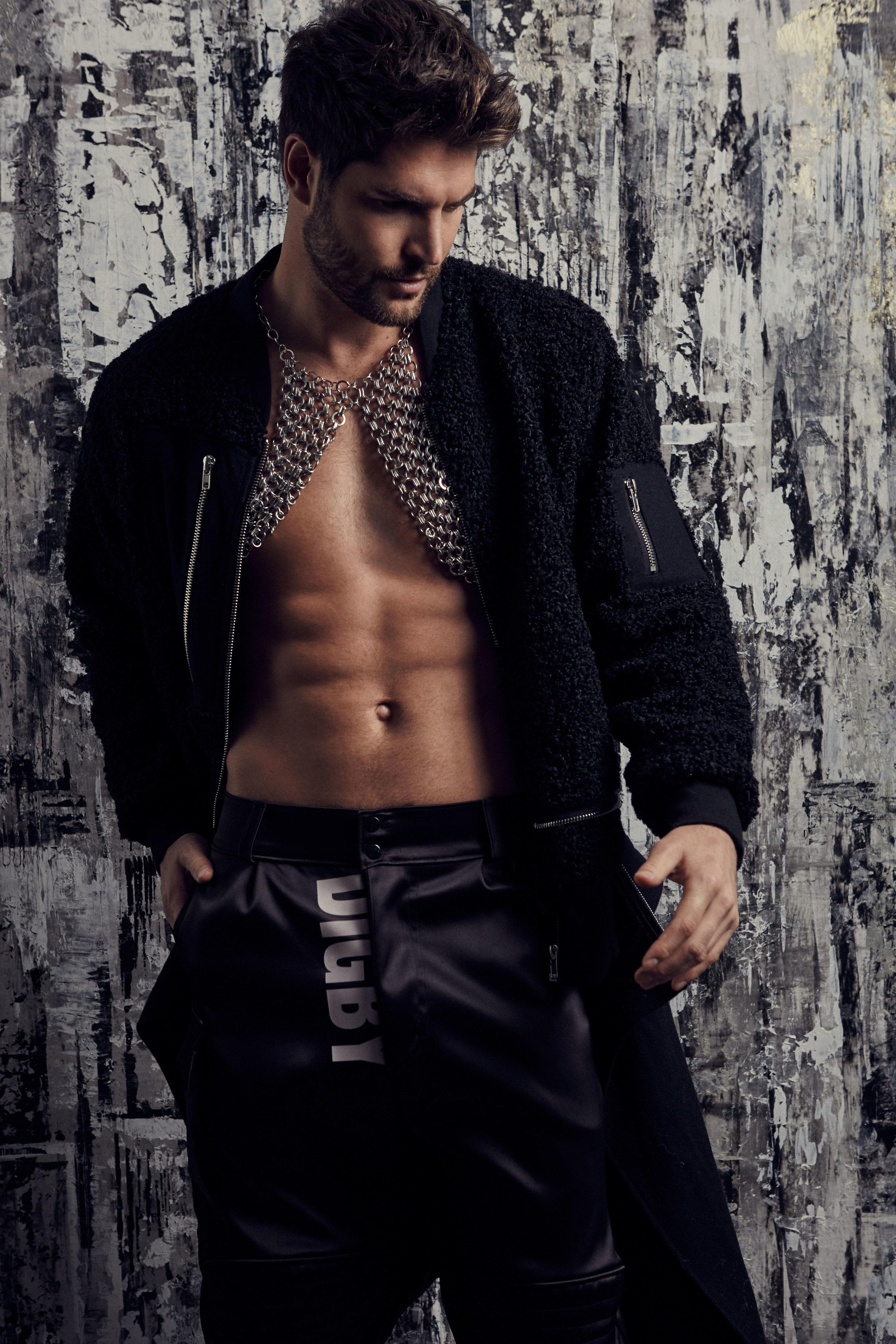 Coat by Lijin / Pants by Digby Jackson