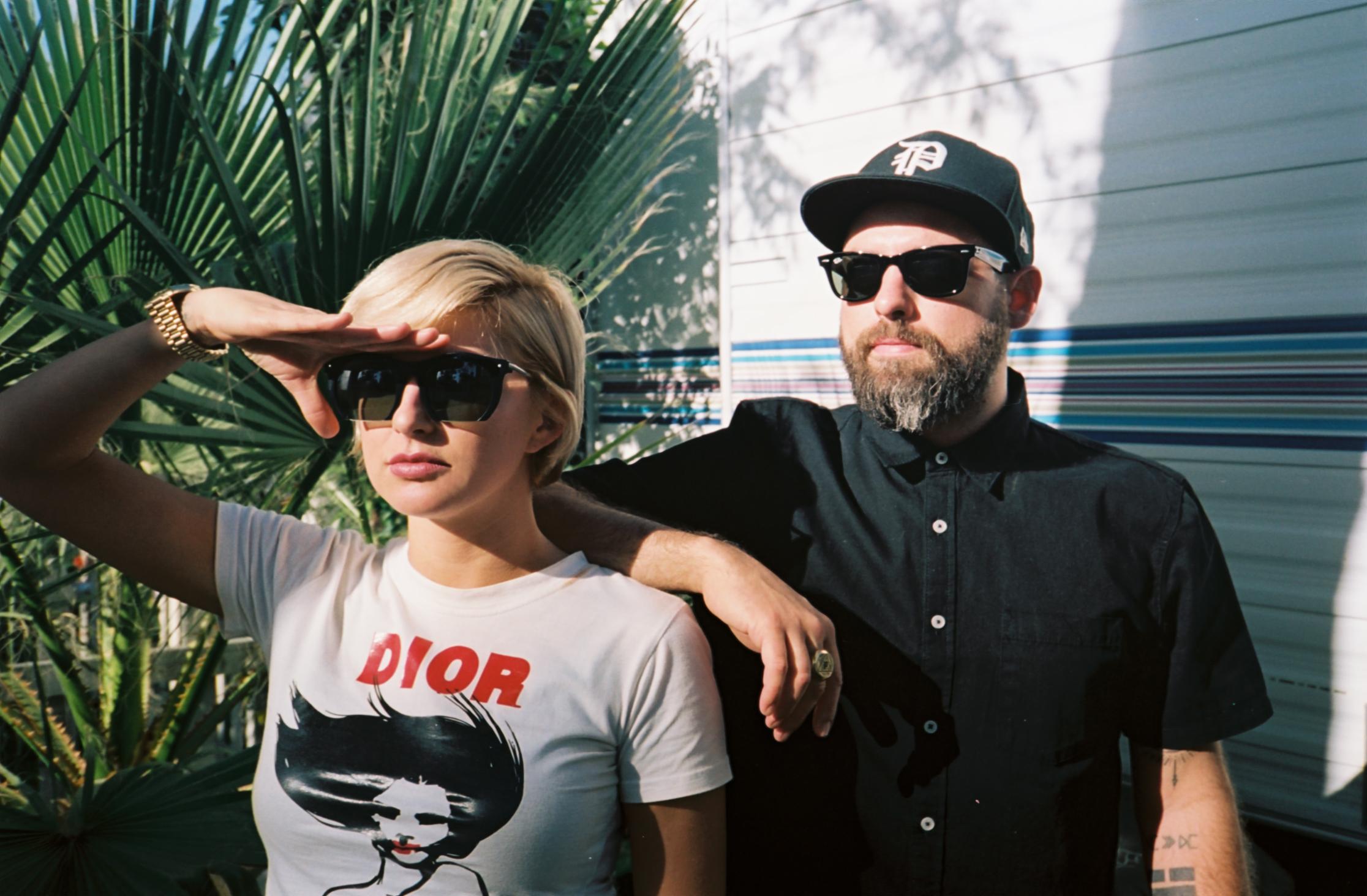 Phantogram - Coachella Backstage