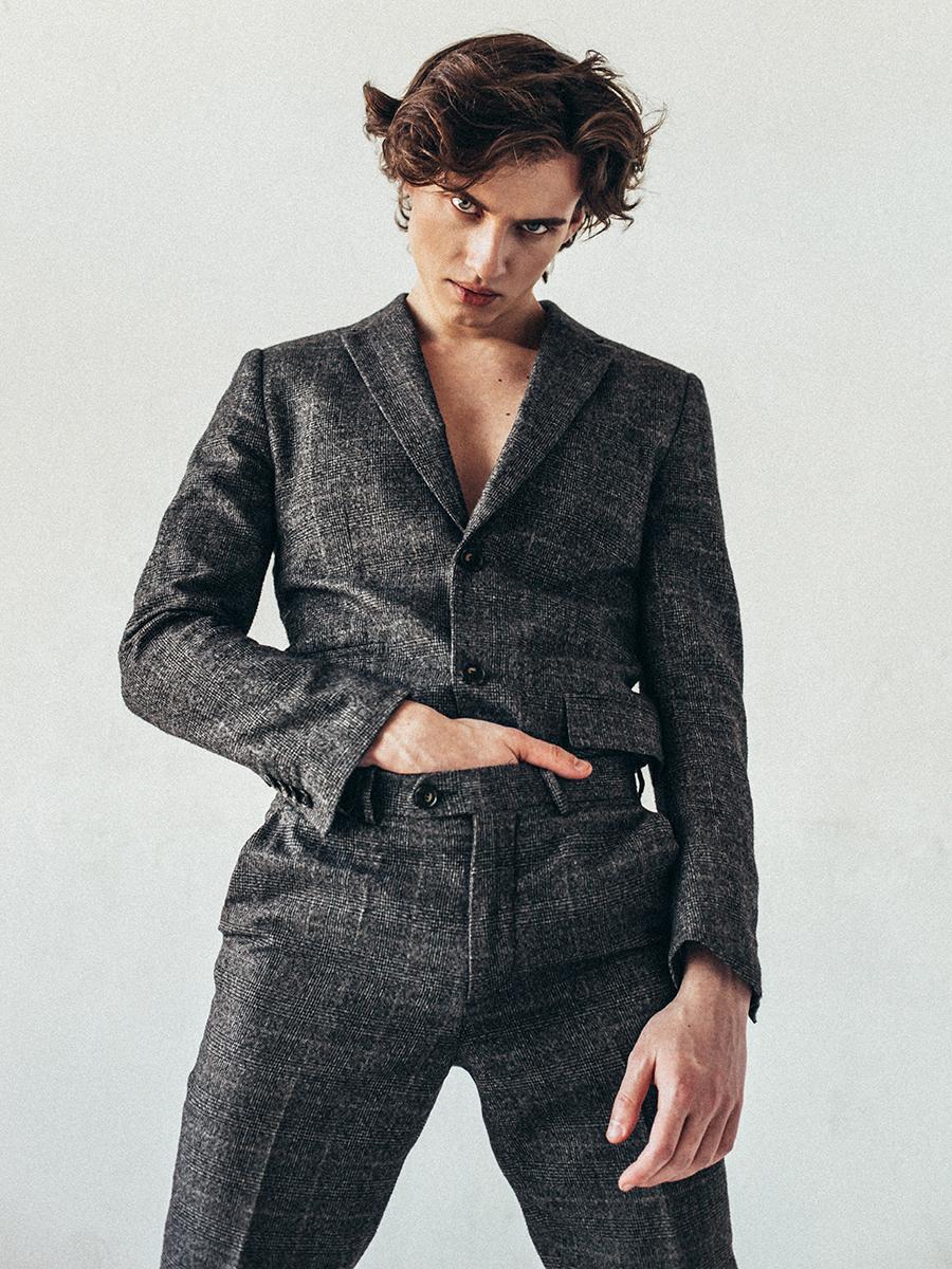 Suit: Gucci