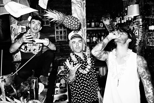 Obviously not having any fun on set with New Politics for @roguemagazine's Issue N°7 @newpoliticsrock  Photography by @soulcapturing  Styling by @savannakc  Hair by @vanessaprice with @therexagency  Makeup by @mariahnicolebeauty using @lamer  Written by Hannah Rosenberg Location @lonohollywood  Discover their spread in our Winter Issue on stands & online now #newpolitics #roguemagazine