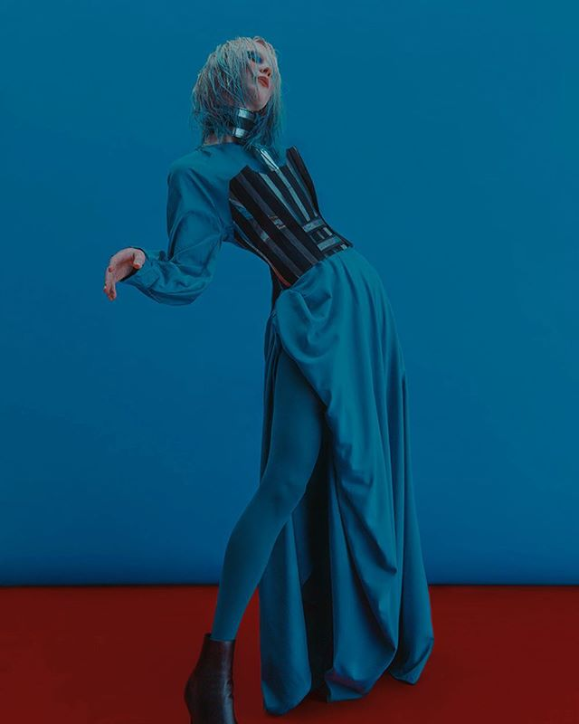 'Disassembled' Fashion Editorial for @roguemagazine online.  Photography by @kamillahanapova  Model: @cutensadistic  Styling by: @katrin_white  Makeup by: @rita_simone  Hair by: @obman_basquiat  Location: @bedford_studio  Dress & Top by @snezhananyc  Shoes @fendi  #fashioneditorial #roguemagazine
