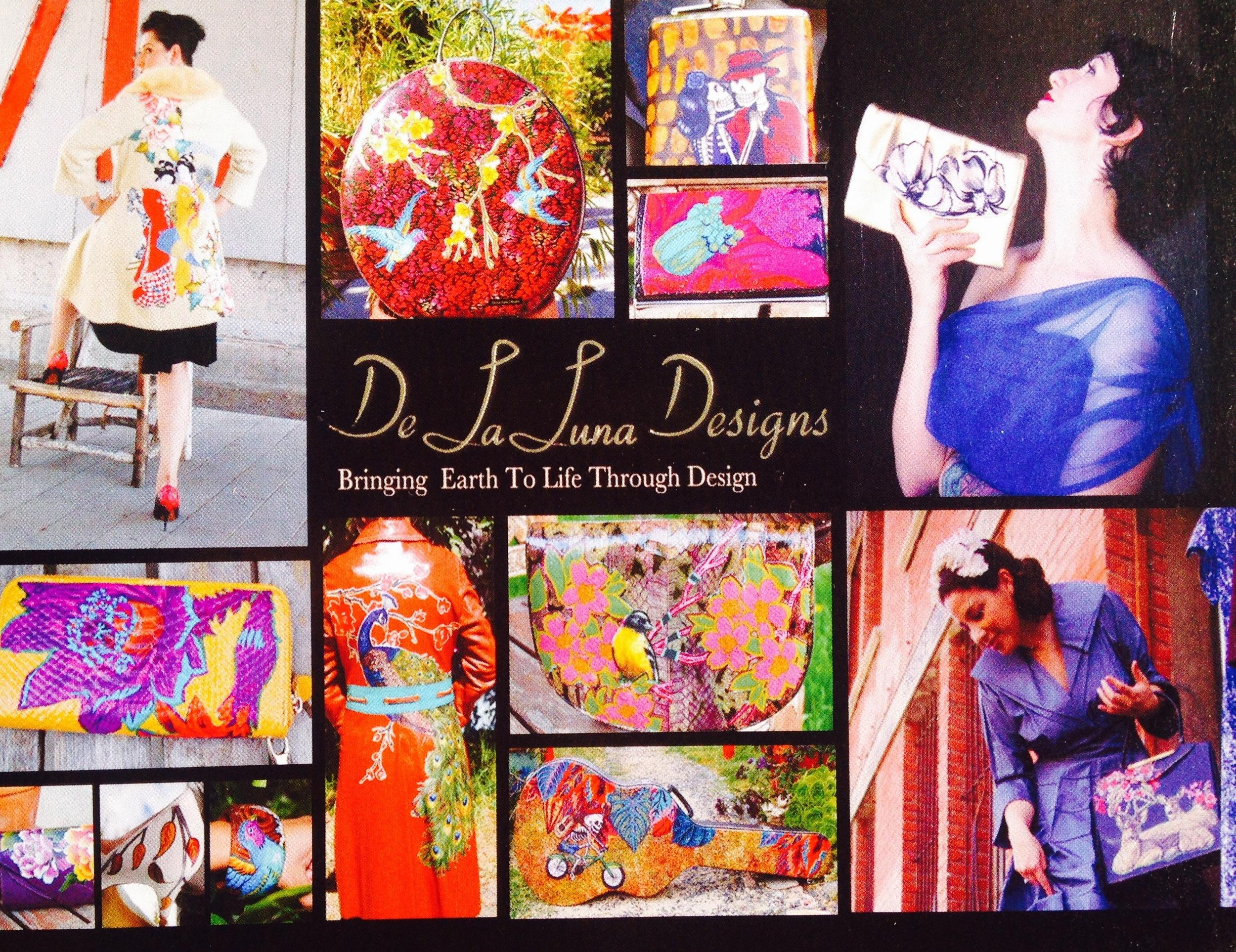 De La Luna Designs  website