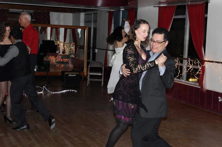 dancing my passion-the tango.