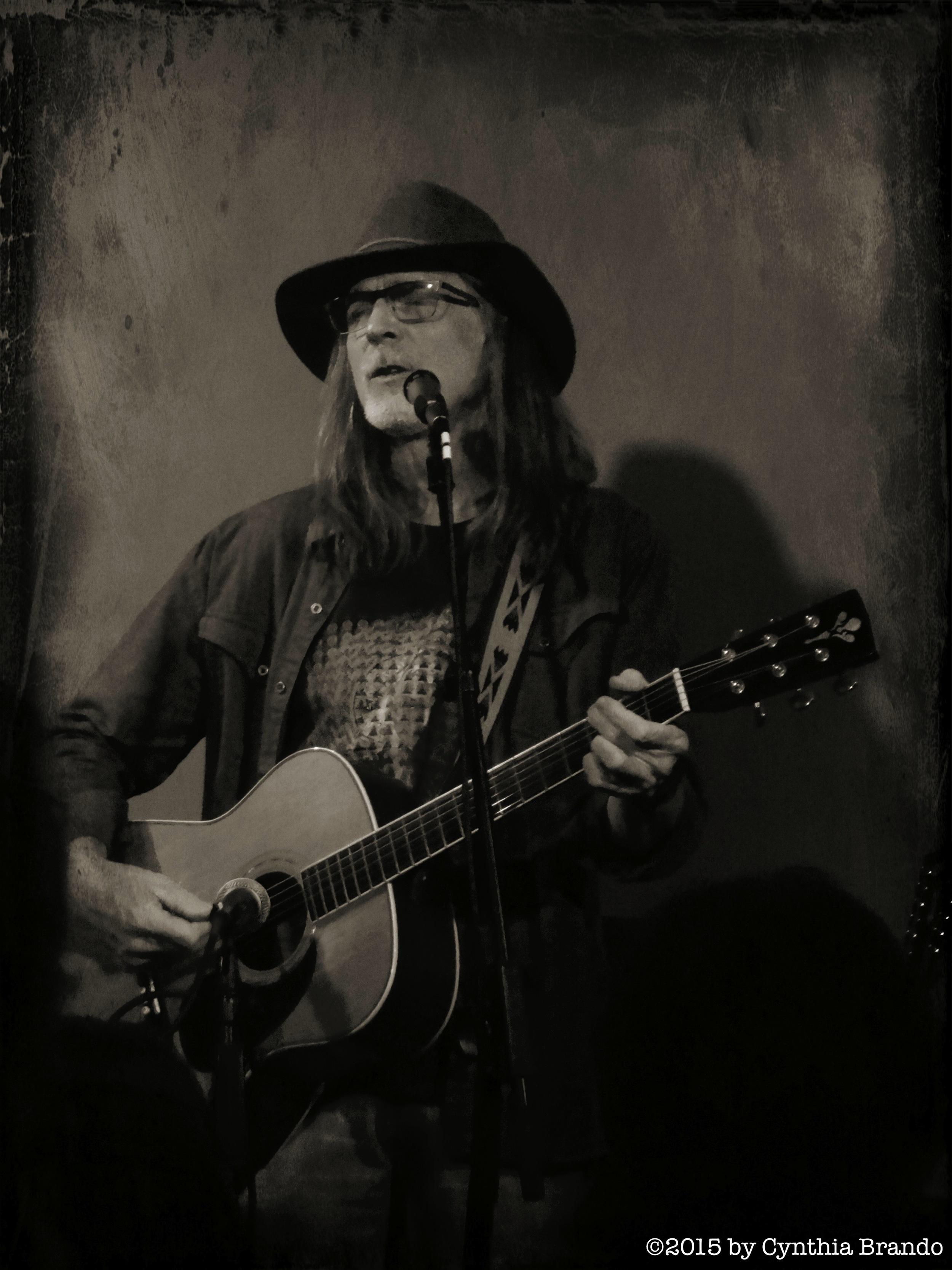 "Ed Tree at ""Live at the A Frame""."