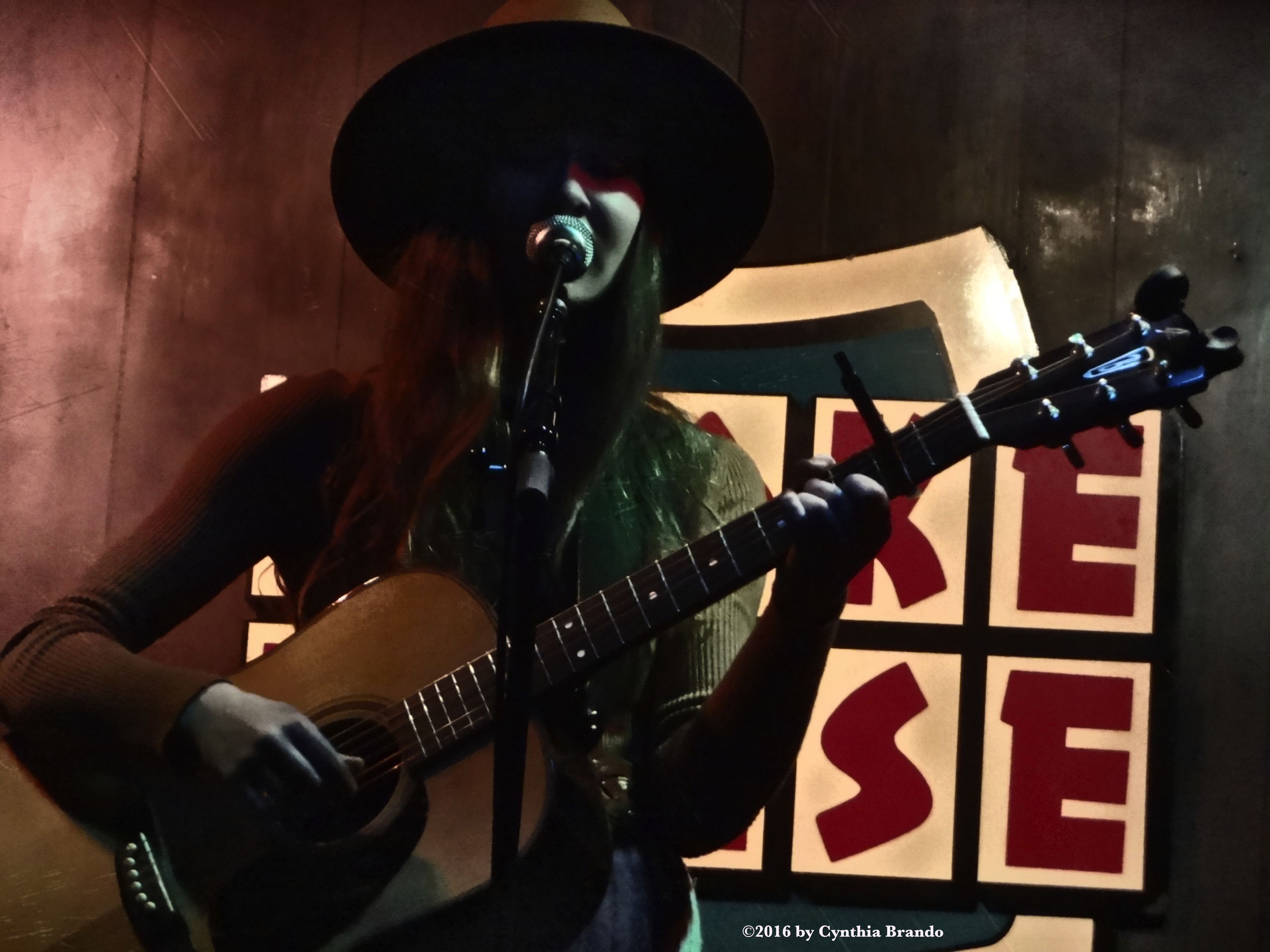 Lexie Hofer  at The Smoke House in Burbank.