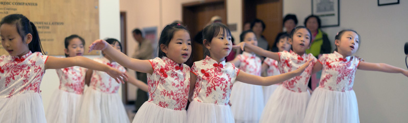 Young performers at October's Sino-Finnish Research Days