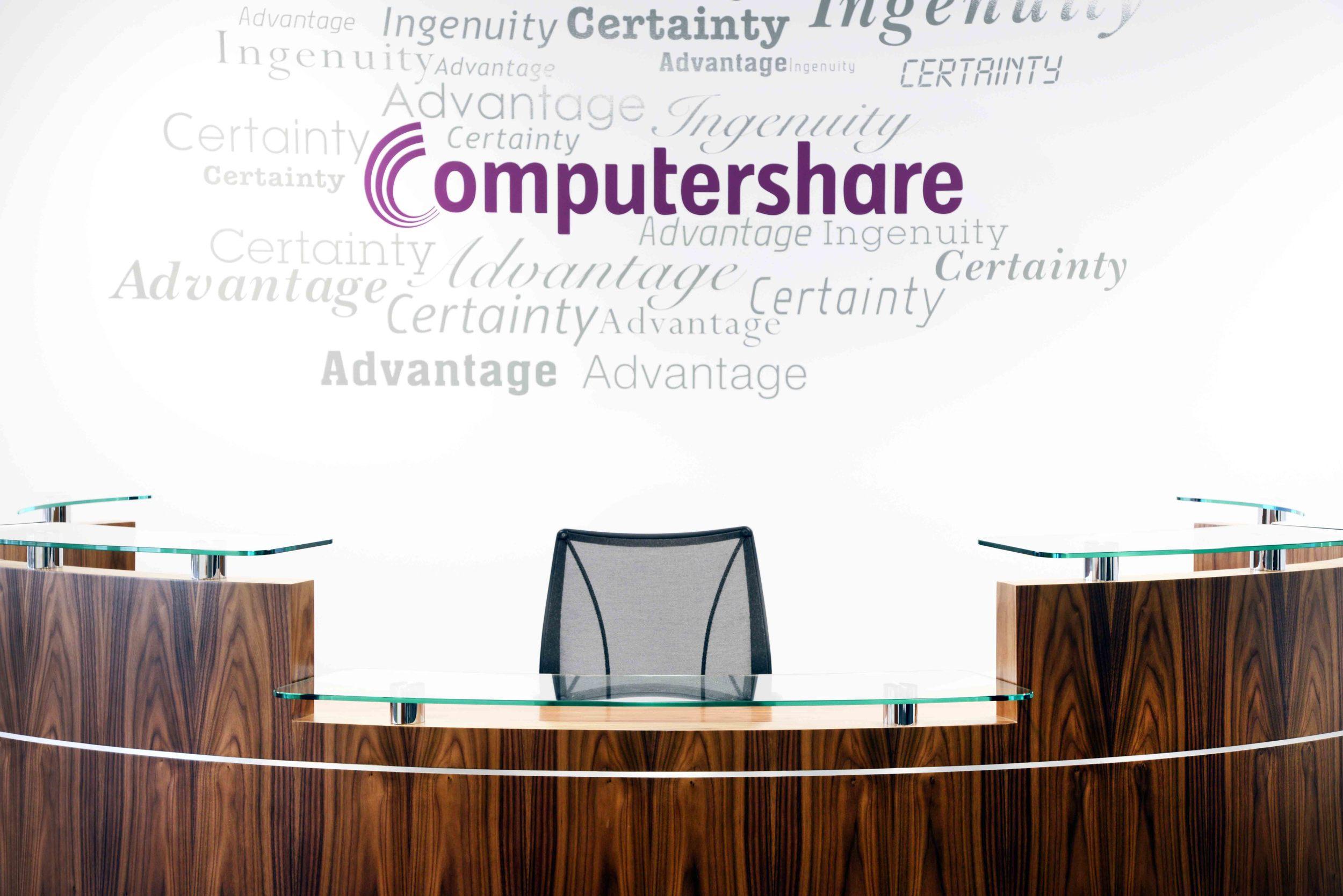 Computershare 10,000 Sq ft – 7 Weeks