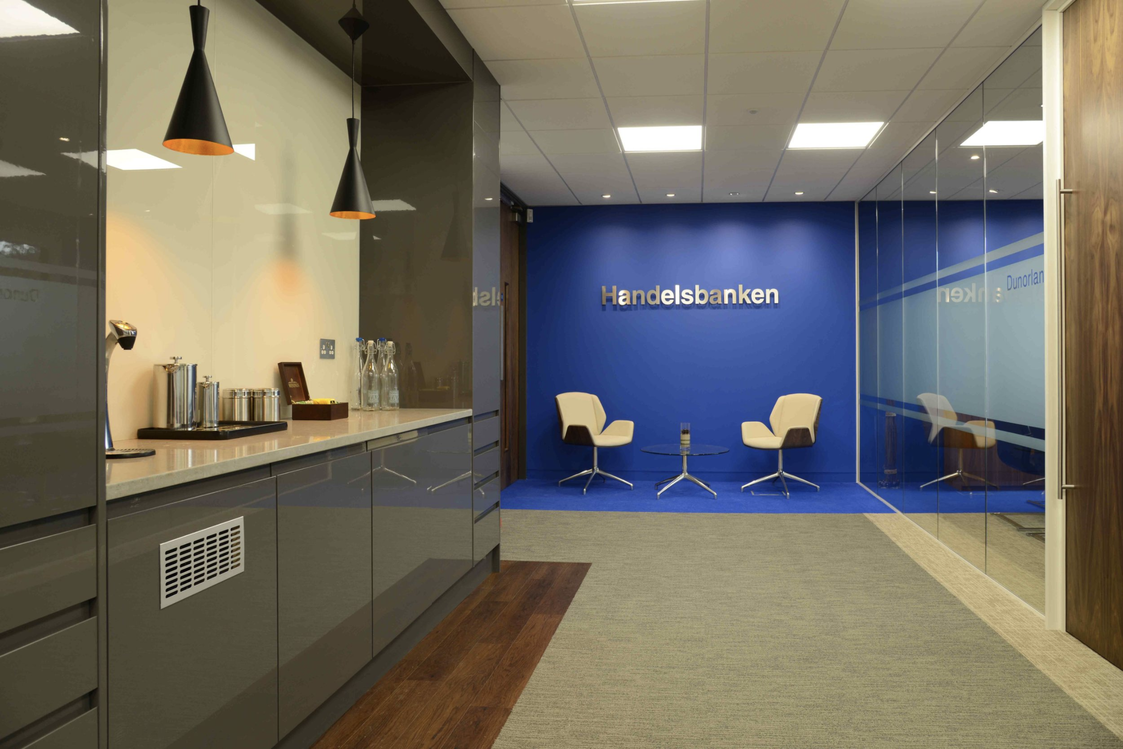 Handelsbanken 10,000 Sq ft – 17 Weeks