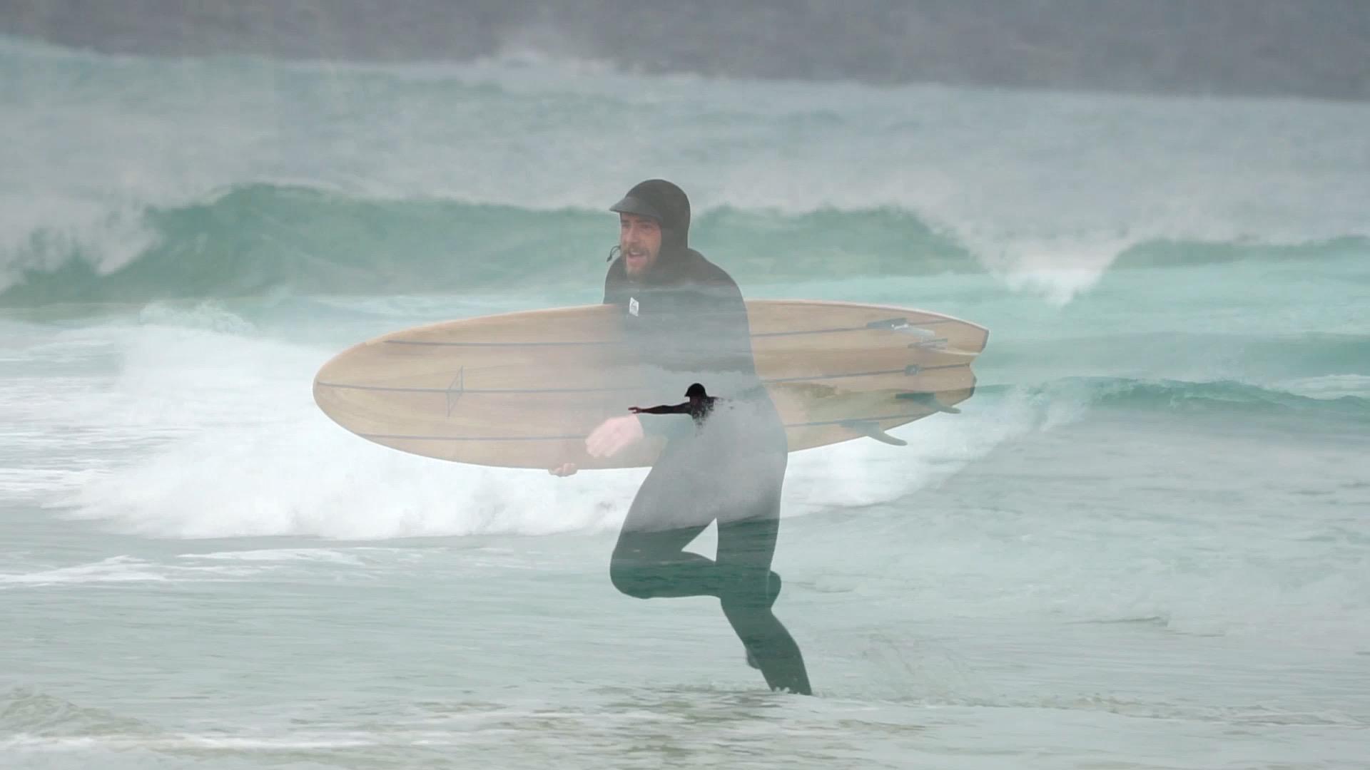 Lignum Surfboards in situ