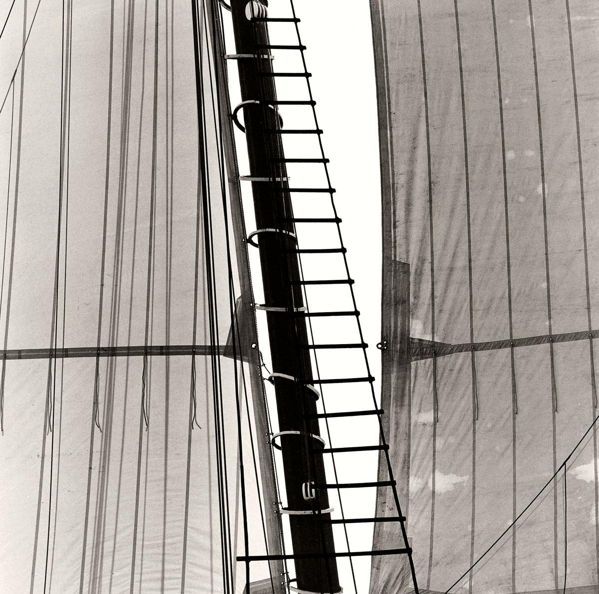 'Mast Detail Victory Chimes', 1998. Michael Kahn