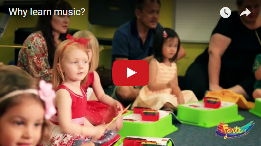 Next Video: - Why Learn Music? - experienced music teachers explain the benefits of a musical education and how easily it integrates into a child's life.