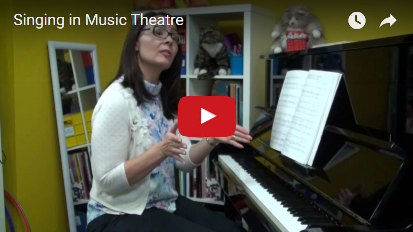 Next Video: - Singing in Music Theatre - not all our schools offer Music Theatre classes but  of those which do, Kia Leong steps through some of the benefits.