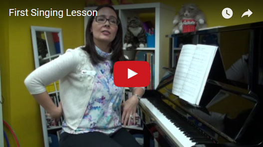 Next Video: - First Singing Lesson - Sit in on a sample singing lesson and pick up some of the basics you'll learn at a Forte School of Music.